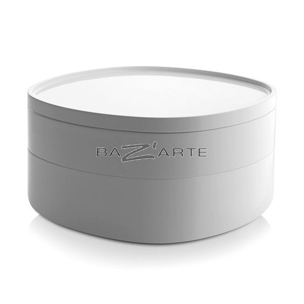 Buy storage container for bathroom birillo by alessi at for Bathroom containers