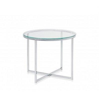 Table d 39 appoint ronde bazarte objets et cadeaux design - Table d appoint ronde ...