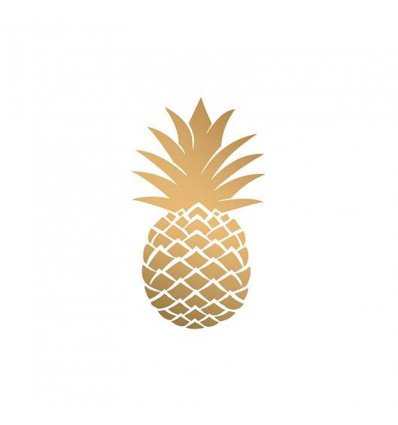 Serviette - Golden Pineapple