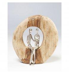 Objet décoratif - Couple In Log