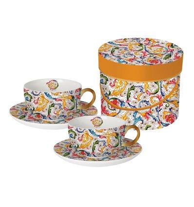 Set de 2 tasses cappuccino - FIORENTINA