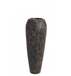 Vase ethnique en résine