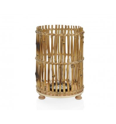 Bougeoir bambou africain