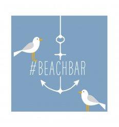 serviette en papier - Beach Bar