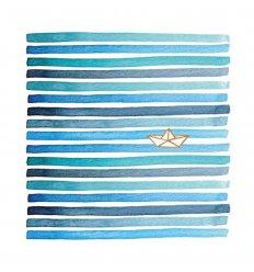 Serviette en papier - Paper Boat