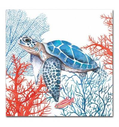 Serviette en papier - Turtle
