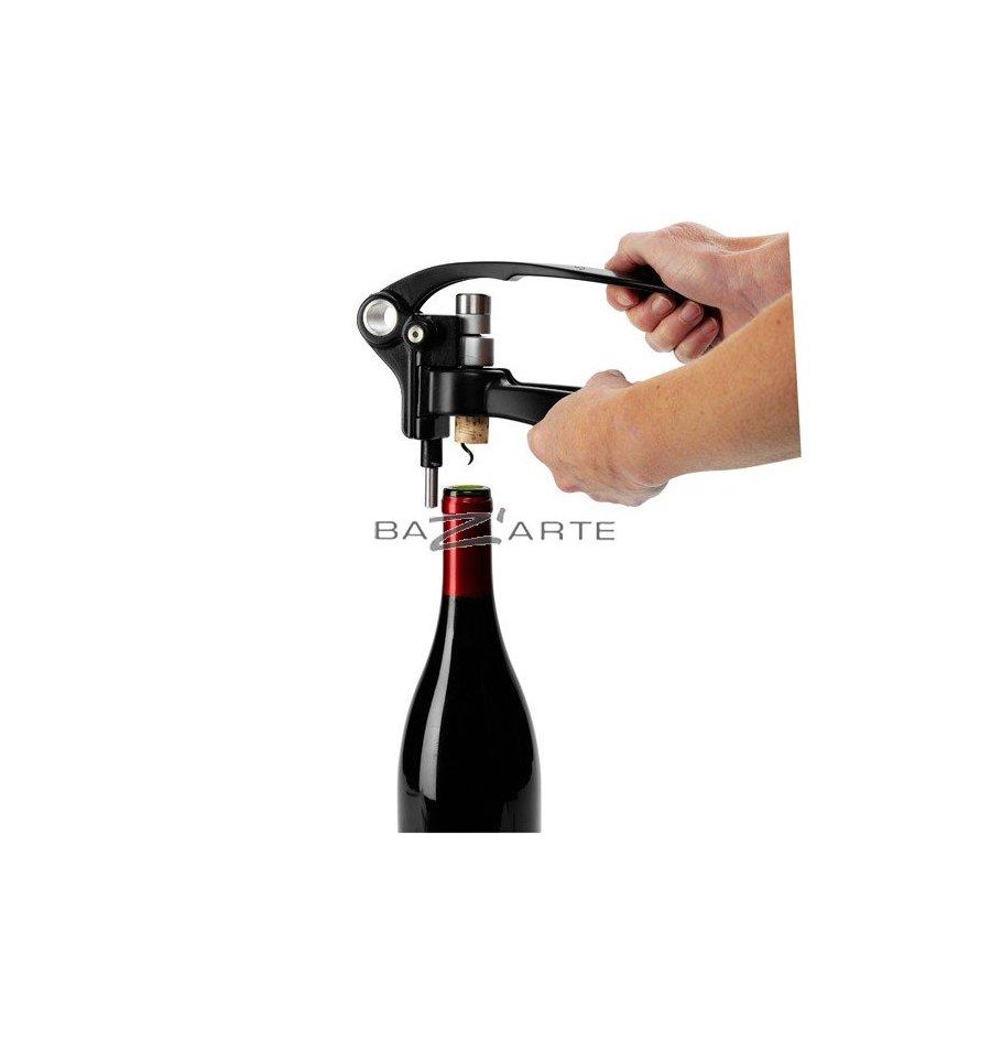 Acheter tire bouchon screwpull lm250 noir par screwpull chez bazarte objets et cadeaux design - Tire bouchon a levier screwpull ...