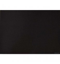 Placemat - BASKETWEAVE - Black
