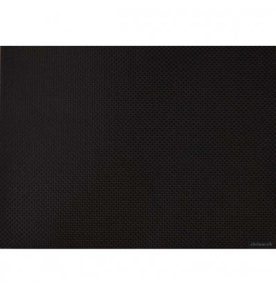 Placemat - BASKETWEAVE - Black - Chilewich