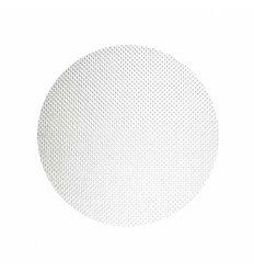 Set de table rond - BASKETWEAVE - blanc