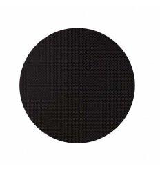 Set de table rond - BASKETWEAVE - noir