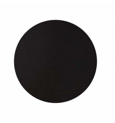 Chilewich - Set de table rond - BASKETWEAVE - noir