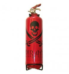 Mac-Fire extinguisher design 1 Kg - RED / BLACK