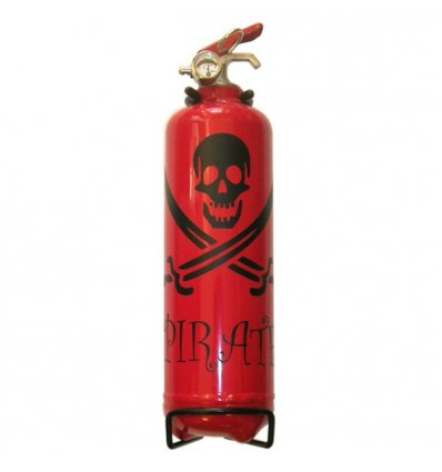 Mac-Fire extinguisher design 1 Kg - RED / BLACK - Mac Fire