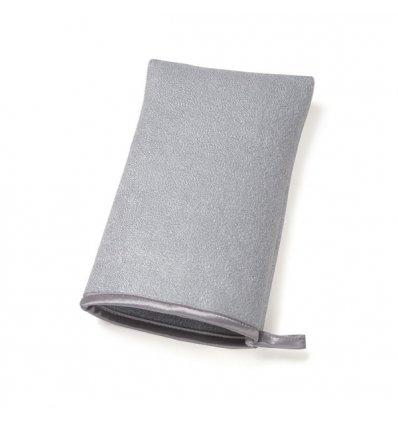 Simplehuman - Gant éponge microfibres pour métal - 1 face nettoyage 1 face polissage