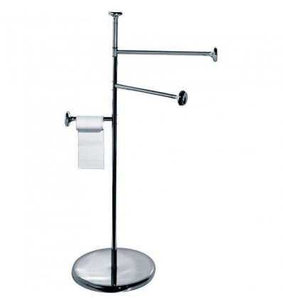 Towel holder - BIRILLO - Chromed steel - Alessi