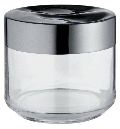 Boîte de cuisine - JULIETA -  50 cl verre et inox - Alessi