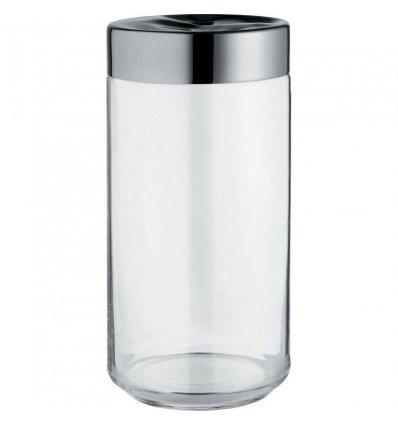 Alessi - Boîte de cuisine - JULIETA - 150 cl verre et acier inoxydable