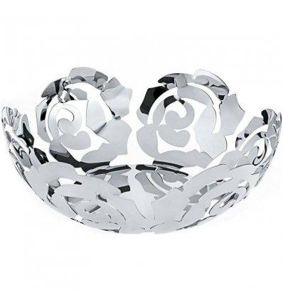 Fruit Bowl - LA ROSA - Diameter 29 cm - Stainless Steel - Alessi