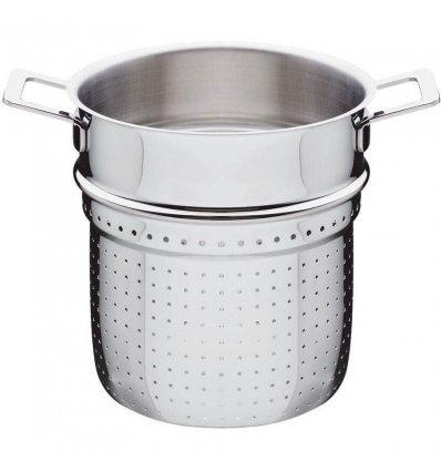 A di Alessi - Passoire ajourée pour pâtes - POTS & PANS