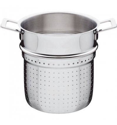 Perforated strainer for pasta - POTS & PANS - A di Alessi