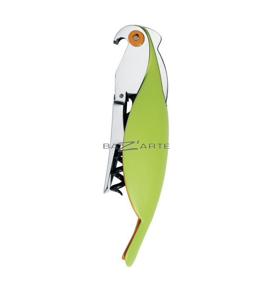 acheter tire bouchon sommelier parrot par a di alessi chez bazarte objets et cadeaux design. Black Bedroom Furniture Sets. Home Design Ideas