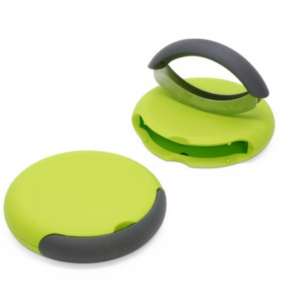 Herb grinder - CHOPPER - lime green - Joseph Joseph