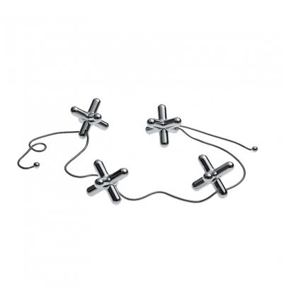 Trivet with adjustable elements - TRIPOD - Alessi