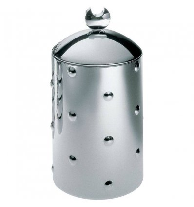 Food storage - KALISTO 1 - stainless steel H 21 cm - Alessi