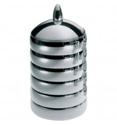 Food storage - KALISTO 2 - stainless steel H 21 cm