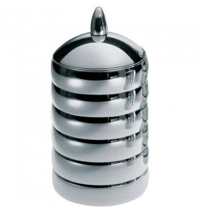 Alessi - Boîte alimentaire - KALISTO 2 - acier inox H 21 cm