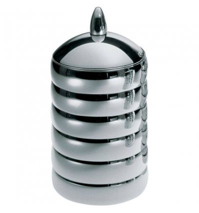 Food storage - KALISTO 2 - stainless steel H 21 cm - Alessi