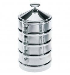Boîte alimentaire - KALISTO 3 - acier inox  H 20 cm