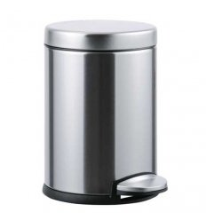 Pedal bin - DELUXE BRUSHED - 4.5 liters