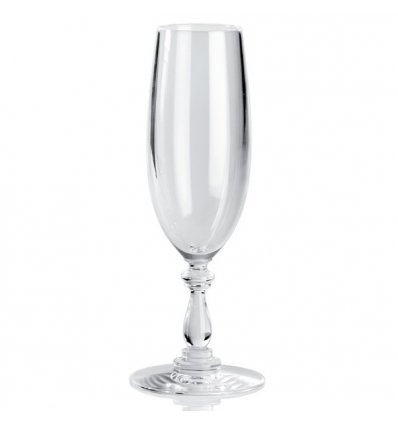 4 champagne flutes - DRESSED - Alessi