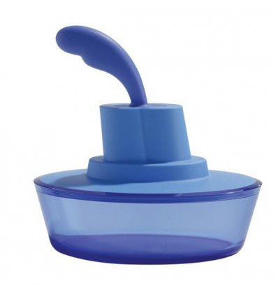 Food container with spatula - SHIP SHAPE - A di Alessi