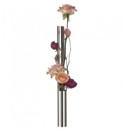 Vase - FLOWER VASE TUBE - inox - Alessi