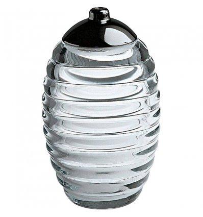Alessi - Sucrier saupoudreuse - SUGAR JAR - verre et inox