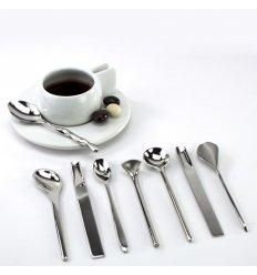 Set de 8 cuillers à café - IL CAFFE/TE