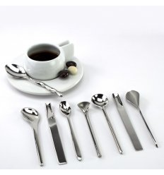 Set of 8 coffee spoons - IL CAFFE/TE