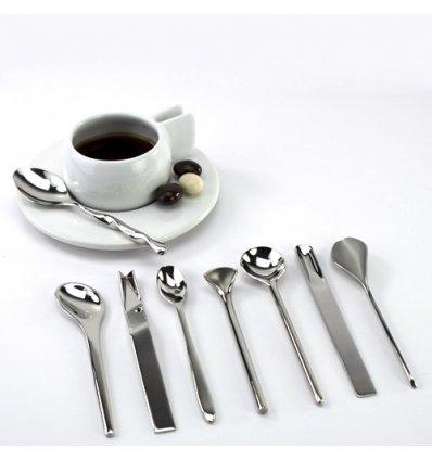 Alessi - Set de 8 cuillers à café - IL CAFFE/TE