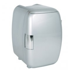 Mini Fridge - WHITE FOX - Colour silver