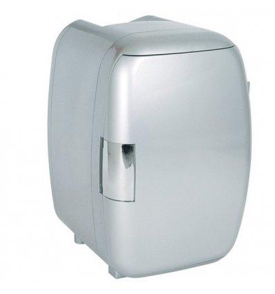 La Chaise Longue - Mini Frigo - WHITE FOX - Coloris argent