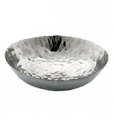 Alessi - Centre de table  - JOY n.1  - Acier inox Diam. 37 cm