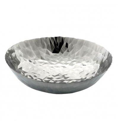 Alessi - Centre de table - JOY n.1 - Acier inox Diam. 37 cm