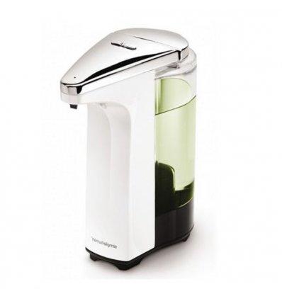 Simplehuman - Distributeur de savon sans contact - COMPACT - blanc