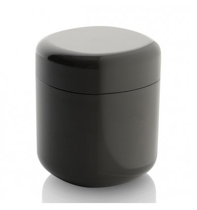 Container for cotton swabs - BIRILLO - Gray - Alessi