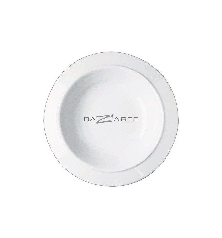 Set of 6 bowls-plates - BAVERO - White Porcelain - Alessi ...  sc 1 st  Bazarte Objets et Cadeaux design & Buy Set of 6 bowls-plates - BAVERO - White Porcelain by Alessi at ...