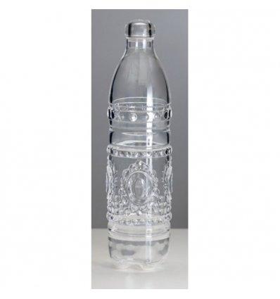 Baci Milano - Bouteille avec bouchon - BAROQUE & ROCK - Transparente 1,2 litre