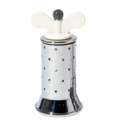 Pepper mill - MICHAEL GRAVES - White - Alessi